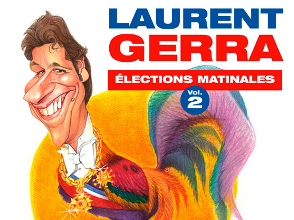 Album Laurent Gerra Elections Matinales Vol.2