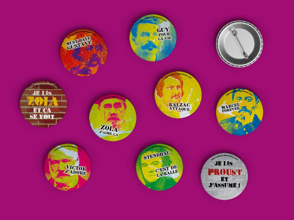 Badges Flammarion