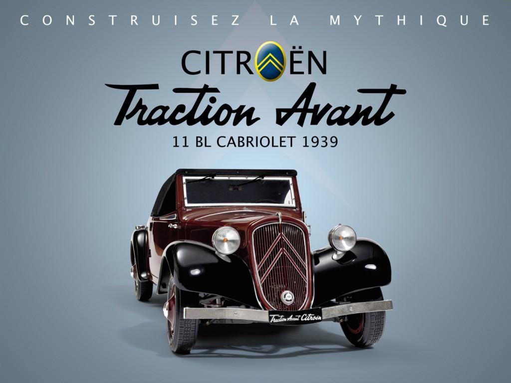 Citroën Traction Avant Hachette Editions