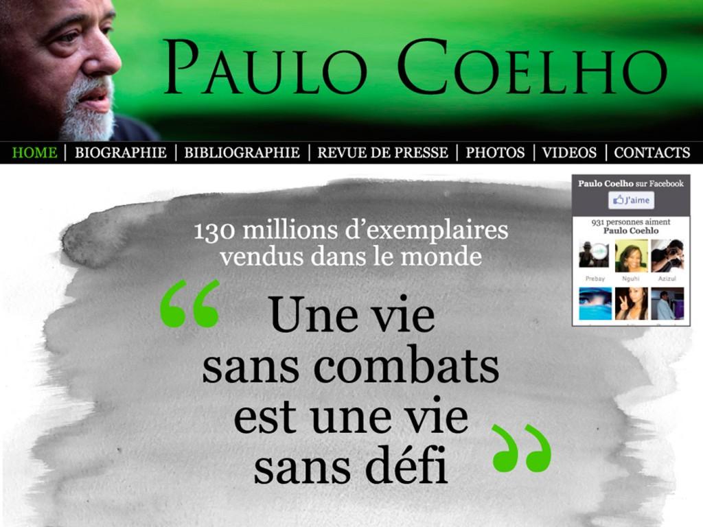 Site Internet Paulo Coelho