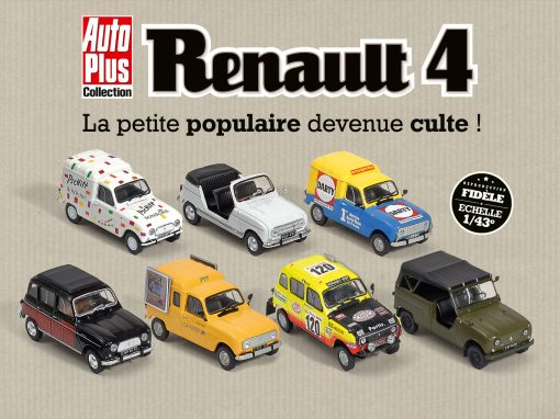 Collection Renault 4 Hachette Editions