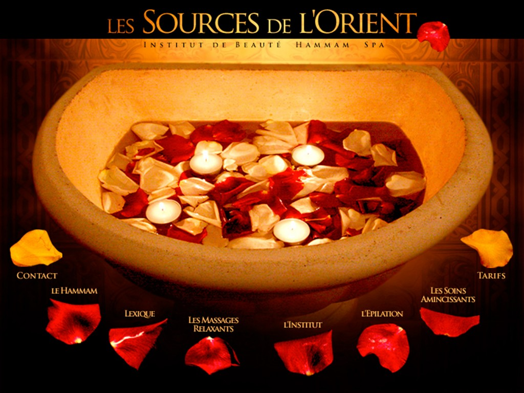 Site Internet Les Sources de l'Orient