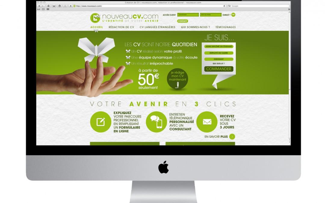 Site Internet Nouveaucv.com