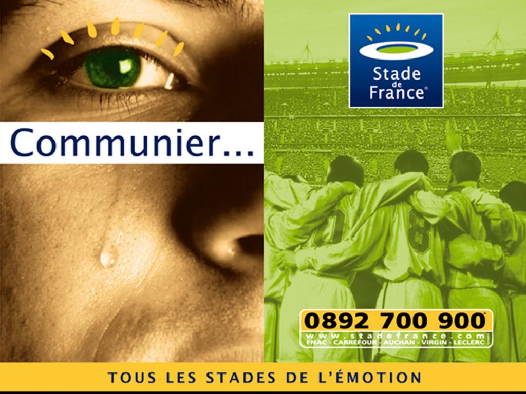 Campagne Stade de France Emotion