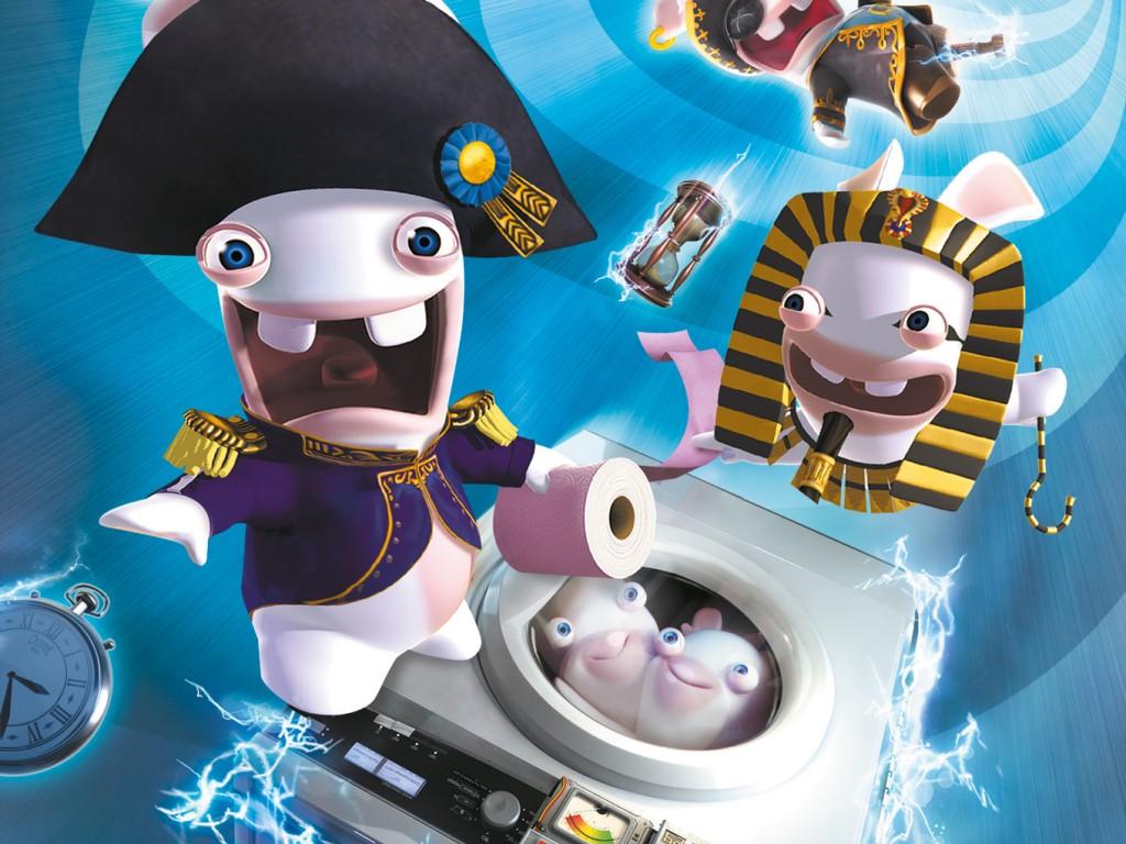 Les Lapins Crétins Retour vers le Passé Ubisoft