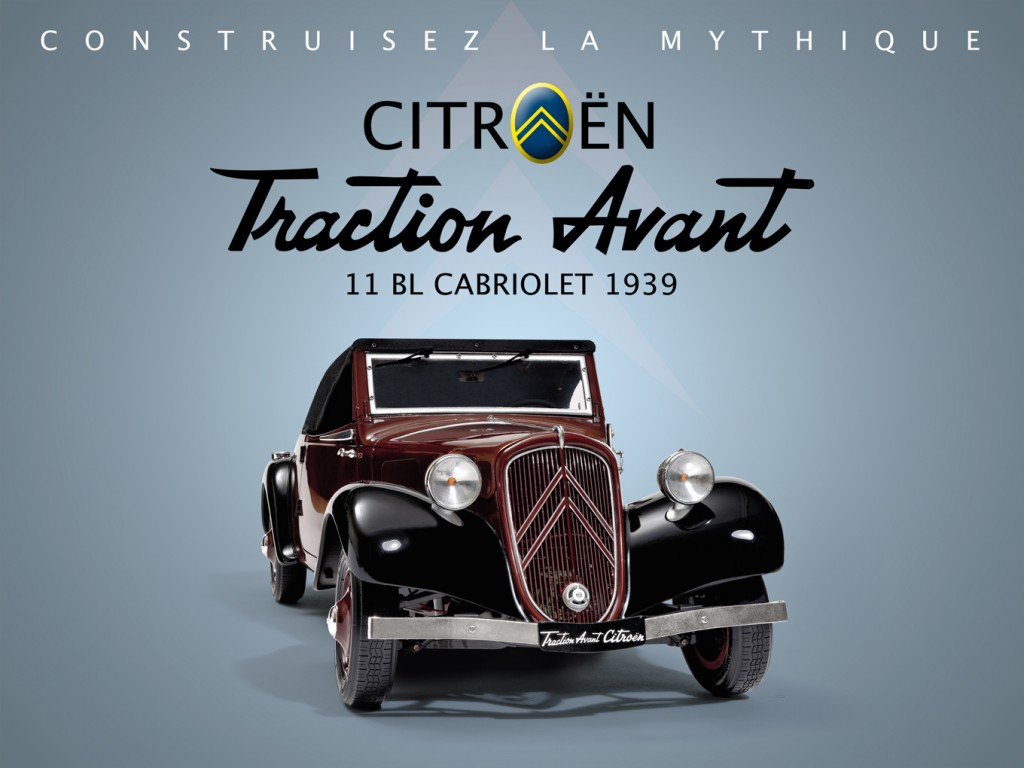 Citroën Traction Avant Hachette Editions