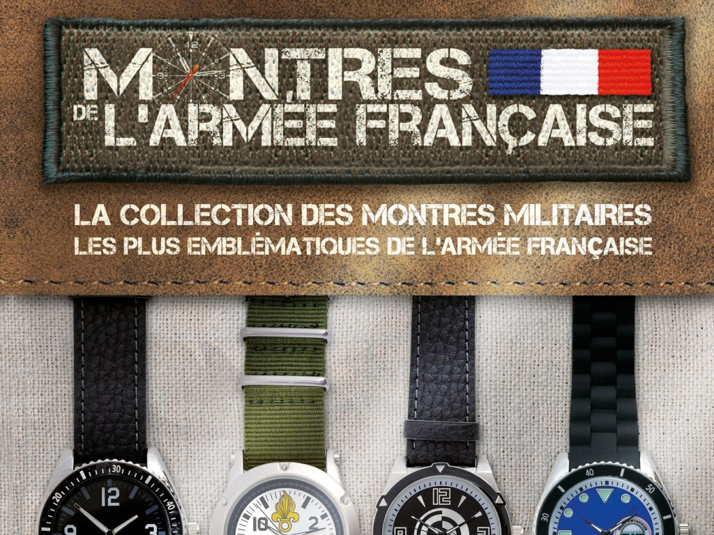Collection Montres de L'Armée Hachette Editions
