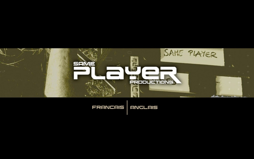 Site Internet Same Player Productions