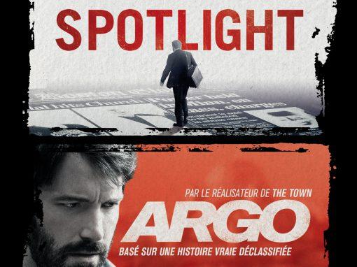 Video Coffret Spotlight / Argo