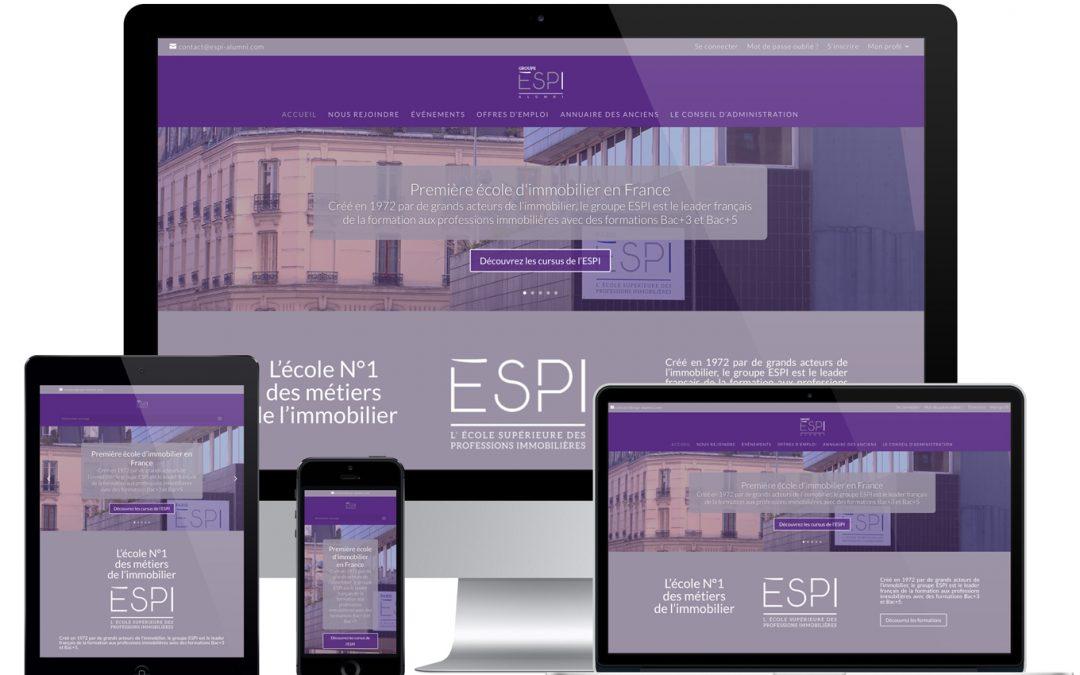 Site Internet Espi Alumni